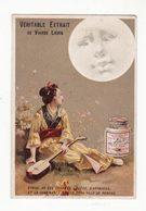 Chromo  LIEBIG    Chinoise Et Lune - Liebig