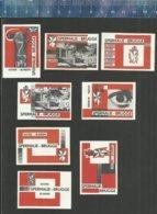 BRUGGE - SPERMALIE - DOVEN BLINDEN  Matchbox Labels Belgium - Boites D'allumettes - Etiquettes