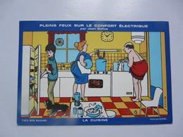 VIEUX PAPIERS - BUVARDS : Confort Electrique - Electricité & Gaz