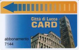 CITTA DI LUCCA CARD PARCHEGGI - Tickets - Vouchers