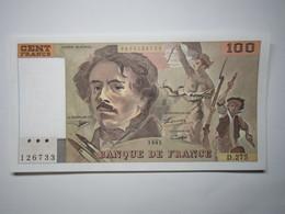 1995 Billet 100 Francs Eugène Delacroix - 1962-1997 ''Francs''
