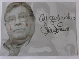 CPM De Jerry LEWIS - Signé - Dédicace Manuelle Authentique - Artistes
