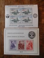 Lot Blocs 31 & 32 Neufs / Timbres Belgique 1957 & 1960 - Blocs 1924-1960