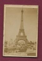 270120 - PHOTO Souvenir Ascension Juin 1892 TOUR EIFFEL - Tour Eiffel