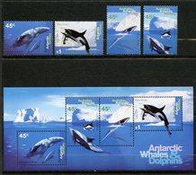 Territoire Antarctique Australien (AAT) , Yvert 102/105+BF1**, Scott L94/97+97a**, MNH - Territoire Antarctique Australien (AAT)
