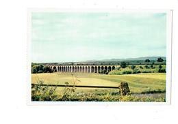 Cpa - 68 - Dannemarie - Le Viaduc - Ligne De Paris à Belfort - N°7 La Vie Du Rail - Train - Dannemarie