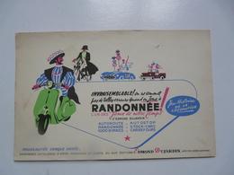 VIEUX PAPIERS - BUVARDS : RANDONNEES - Jeux De Notre Temps - Transports