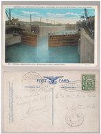 Cpa Panama  Canal 1934 - Panama