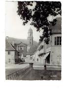 Cpa - 68 - Guebwiller - Rue De La Gare église Notre-Dame - 1953 - N°68.112.03 La Cigogne - Camion Citerne Essence Bière - Guebwiller
