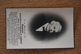 2104/ Léon KIRSCH ép Lejeune Marie Ss-oFF Gendarmerie 19/10/1938 - Obituary Notices
