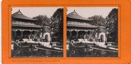 Paris Exposition De 1900 Pavillon De La Chine X3 - Photos Stéréoscopiques