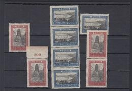 Danzig Lot Ansichten Postfrisch - Germania