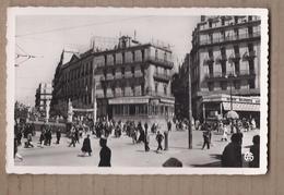 CPSM ALGERIE - CONSTANTINE - La Place De La Brêche - TB PLAN CENTRE VILLE TB ANIMATION Café Brasserie TB Verso - Constantine