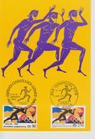 FDC FRANCE/GRECE 1992 JEUX OLYMPIQUES De BARCELONE 1992 - Ete 1992: Barcelone