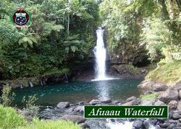 Samoa Afuaau Falls New Postcard - Samoa