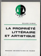 Proprieté Littéraire Et Artistique - Droit