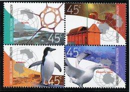 Territoire Antarctique Australien (AAT) , Yvert 149/152**, Scott L119a-d**, MNH - Territoire Antarctique Australien (AAT)