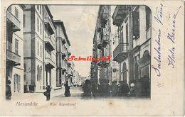 Alexandrie - Rue Stamboul - 1903 - Alexandrie