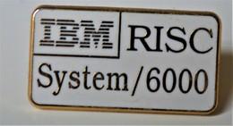 Rare Pin's Arthus Bertrand  IBM RISC Système/6000 - Arthus Bertrand