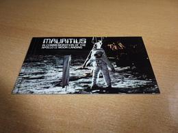 Apollo 11 Moon Landing; MH Mauritius ** - Raumfahrt
