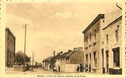 CPA - Belgique - Aiseau - Rue Du Centre - Quartier De La Ferme - Aiseau-Presles