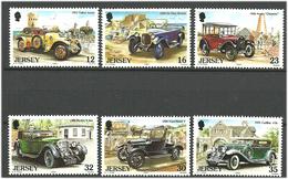 Jersey 1989 Vintage Cars, Talbot, De Dion, Austin 7 Chummy, Ford Model T, Bentley 8 Litre, Caddilac 452 V 16 Fleetwood - Jersey