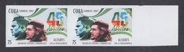 """IMPERFORADO. CHE. ANIVERSARIO DE LA UJC. IMAGEN DEL """"CHE"""". CUBA 2007. EDIFIL 5054 - Non Dentellati, Prove E Varietà"""
