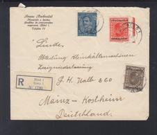 Yugoslavia Registered Cover 1933 Bled To Germany - Briefe U. Dokumente