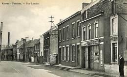 CPA - Belgique - Aiseau - Tamines -  Rue Lambot - Aiseau-Presles