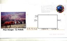 Pap Luquet Flamme Saint Martin Reserve Naturel Oiseau Illustré Pottok - Biglietto Postale