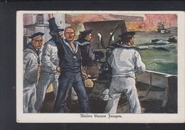 Dt. Reich PK Marine Unsere Blauen Jungen - Weltkrieg 1914-18