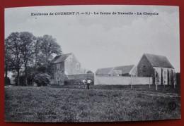 Cpa 77 COUBERT Environs De Anime Ferme De Vernelle Pas Courant - Other Municipalities