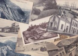 Lot 2293 De 10 CPA Gares Chemin De Fer Train Divers Déstockage Pour Revendeurs Ou Collectionneurs - Postcards
