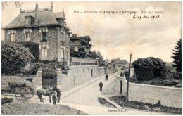 77 Environs De LAGNY - THORIGNY - Rue De Chaalis - Lagny Sur Marne