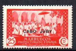 Sello  Nº 73  Cabo Juby - Kaap Juby