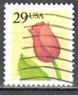 United States 1991 Flower - Sc # 2524 - Mi 2125 A - Used - Verenigde Staten