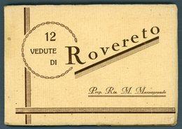 °°° Carnet - 12 Vedute Di Rovereto Cartoline °°° - Trento