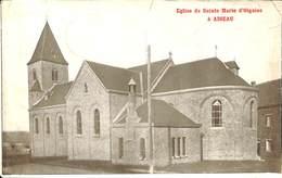CPA - Belgique - Aiseau - Eglise Sainte Marie D'Oignies - Aiseau-Presles