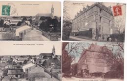 Lot De 11 CPA   / SAINT MICHEL EN L'HERM VENDEE / L'ABBAYE Et LE CHATEAU (2) - Saint Michel En L'Herm