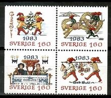 Sweden 1983 Suecia / Christmas MNH Nöel Navidad Weihnachten / Cu15633  36-21 - Navidad