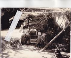 CPSM PHOTO - 26 - BOURDEAUX (Drôme) - L' INONDATION Du 30 Sept 1960 - CARTE RARE Vendue Au Profit Des Sinistrés - France