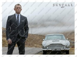 Ukraine   Postcard   007 James Bond: Skyfall (2012)   Daniel Craig   Film   Cinema - Actors