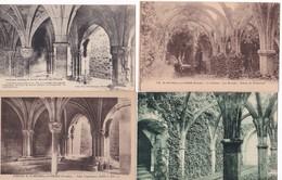 Lot De 10 CPA   / SAINT MICHEL EN L'HERM VENDEE / L'ABBAYE Et LE CHATEAU (3) - Saint Michel En L'Herm