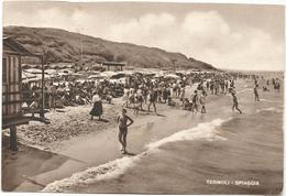 Y5431 Termoli (Campobasso) - La Spiaggia - Colonia Pio XII O.D.A. / Viaggiata - Altre Città