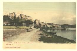 "A0360    [Postkaart] Namur. - Les Rochers ""Les Grands Malades"" (Albert Sugg, Excelsior) [rotsen; Imprimerie Wodon] - Namur"