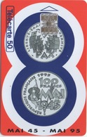 France 100F En Argent : Mai 45 - Mai 95 - Postzegels & Munten