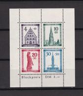 Franz. Zone - Baden - 1949 - Michel Nr. Block 1 A - Postfrisch - 75 Euro - Französische Zone