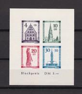 Franz. Zone - Baden - 1949 - Michel Nr. Block 1 B - Postfrisch - 75 Euro - Französische Zone