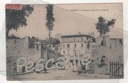56 MORBIHAN - CP ANIMEE LORIENT - LA NOUVELLE PORTE DE PLOEMRUR - PHOTOTYPIE VASSELIER NANTES N°80 - CIRCULEE 1906 - Lorient