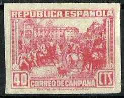 España NE-49s Sin Goma. Cat.75€ - 1931-50 Unused Stamps